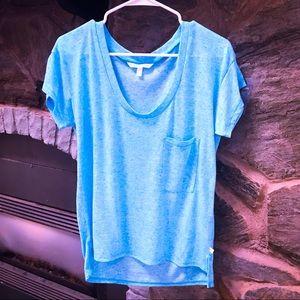 Victoria Secret Baby Blue Knit T-Shirt